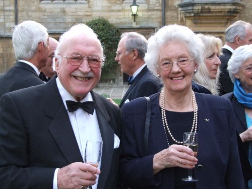 Gordon Cooper (Wills East '48) and Betty Cooper