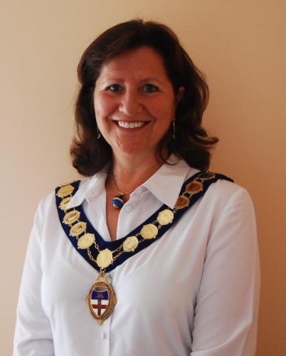 Jan Nuttall - proud to be the first Lady President of the Old Tauntonian Association in its 120 history.